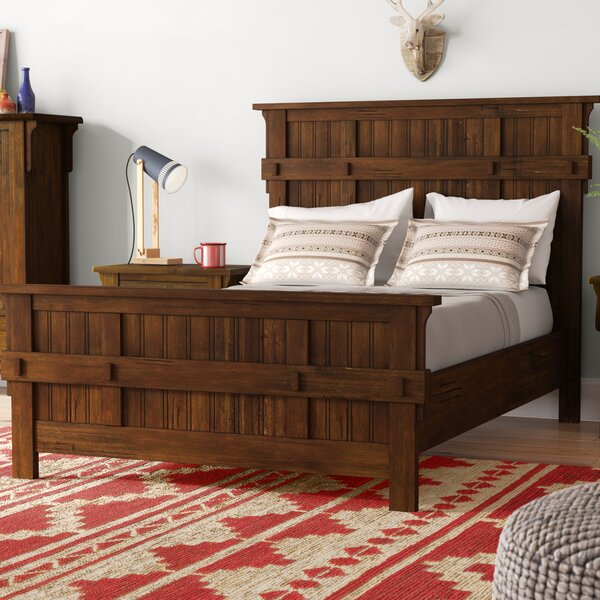 Waynoka Standard Bed by Gracie Oaks