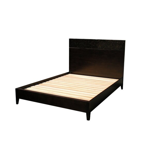 Kuta Platform Bed with Mattress by Indo Puri