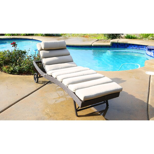 Leib Chaise Lounge with Cushion by Latitude Run