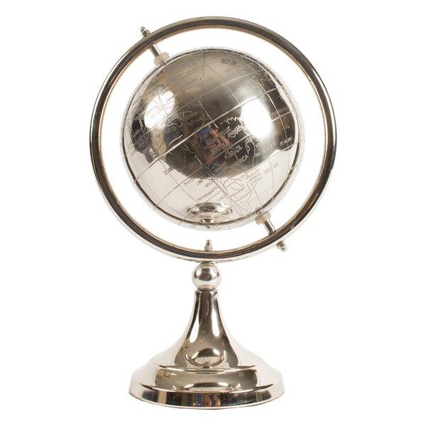 Aluminum Globe by Orren Ellis
