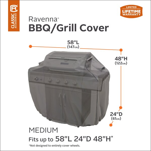 Ravenna® Grill Cover - Fits up to 22.5 by Classic Accessories