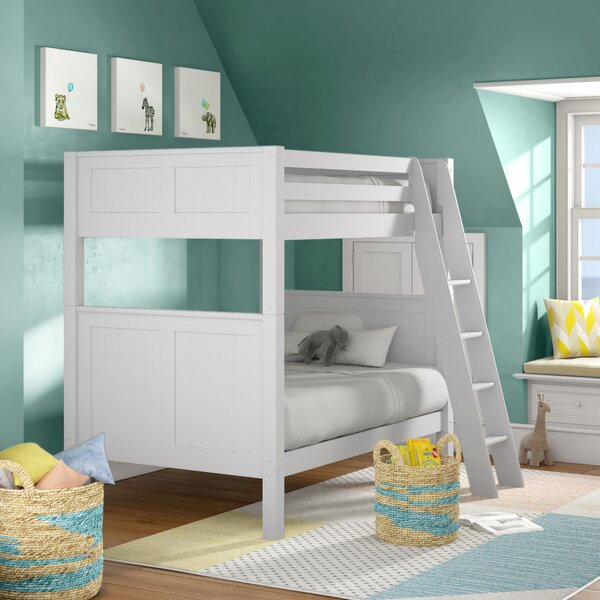 Burkley Twin Over Twin Bunk Bed By Mack & Milo 2019 Sale