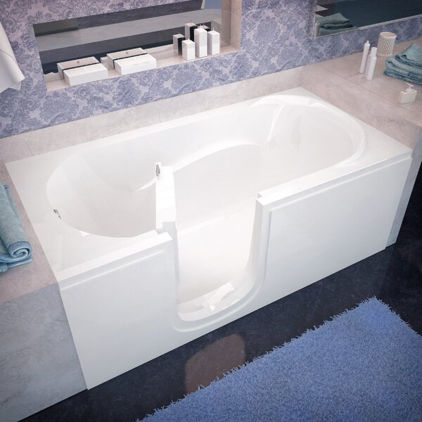 Ashton 60 x 30 Walk-In Bathtub by Therapeutic Tubs