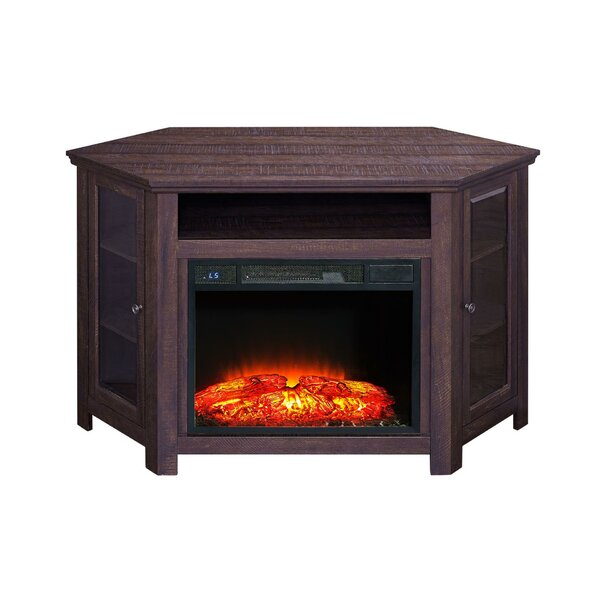 Rhyne 41 TV Stand with Fireplace by Loon Peak