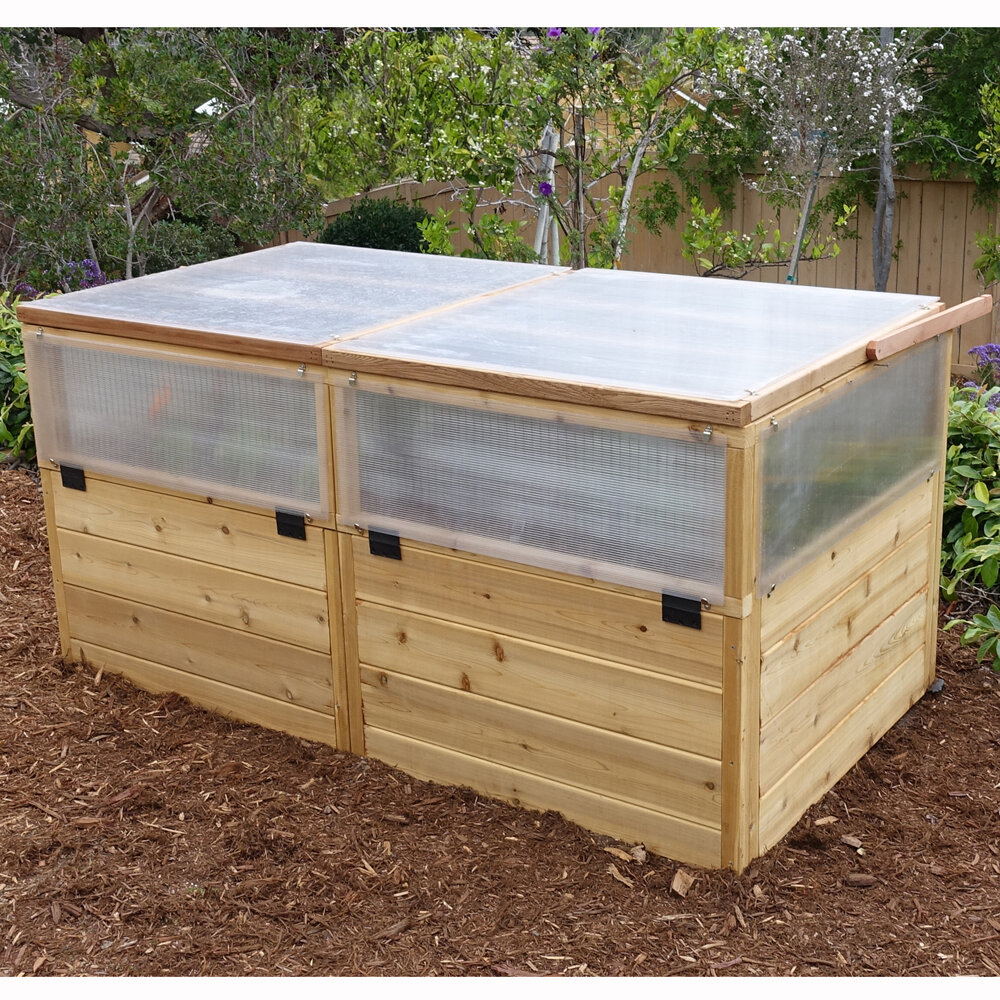 Outdoor Living Today 6 Ft. W x 3 Ft. D Cold-Frame Greenhouse   Wayfair