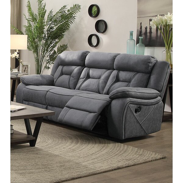 Famous Brands Stef Motion Reclining Sofa by Red Barrel Studio by Red Barrel Studio