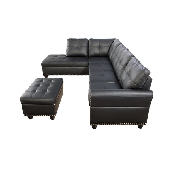 Nuri Sectional with Ottoman by Latitude Run