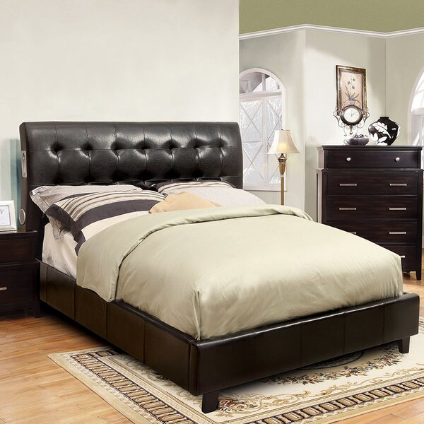 Francesca Upholstered Platform Bed by A&J Homes Studio