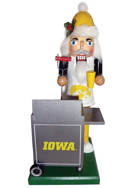 NACC Iowa Hawkeyes Tailgating Nutcracker by Santa's Workshop