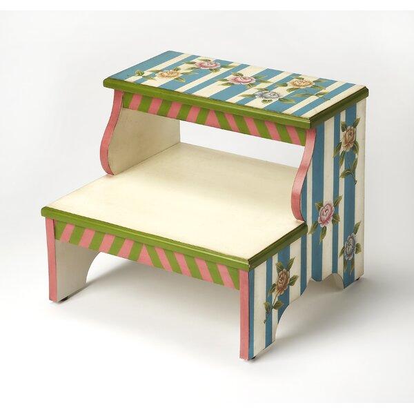 Melrose Alice in Wonderland Step Stool by Butler