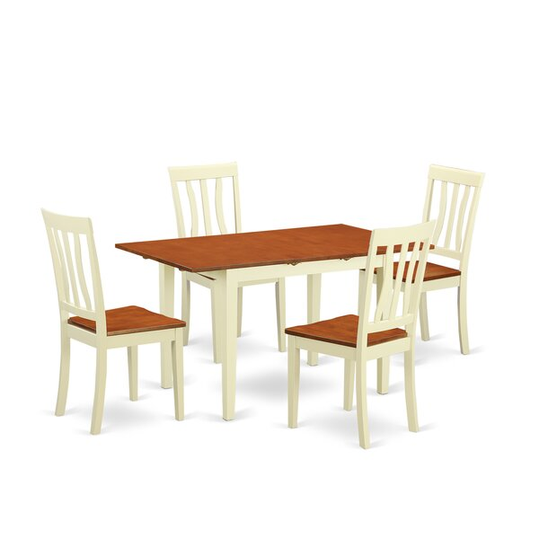 Norfolk 5 Piece Dining Set by Wooden Importers