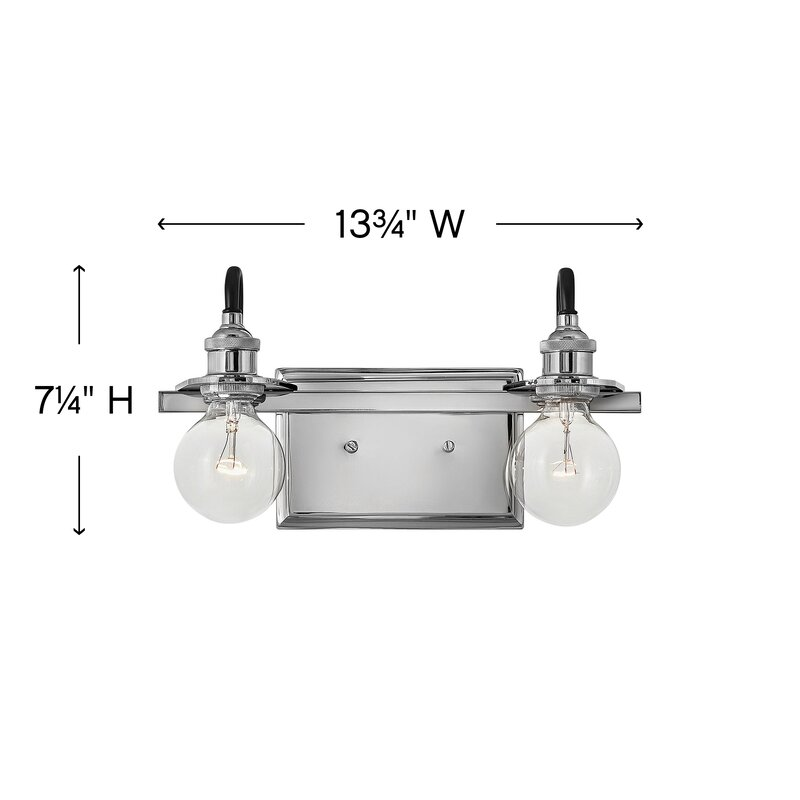 W 4 Bulbs Bell Shaped Brushed Nickel H