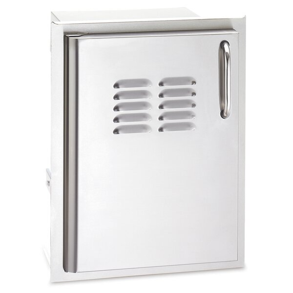 Single Access Door with Tank Tray and Louver by American Outdoor Grill