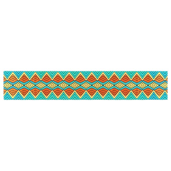Pom Graphic Design Tribal Soul Table Runner by East Urban Home