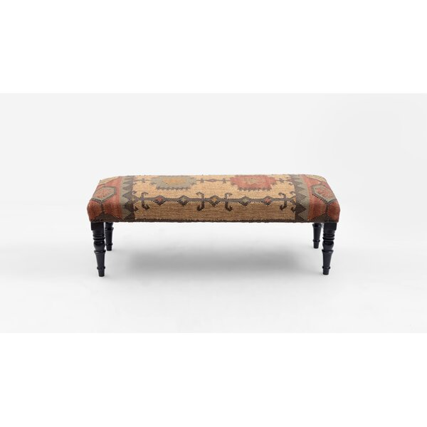 Lyndhur Upholstered Bench by Millwood Pines