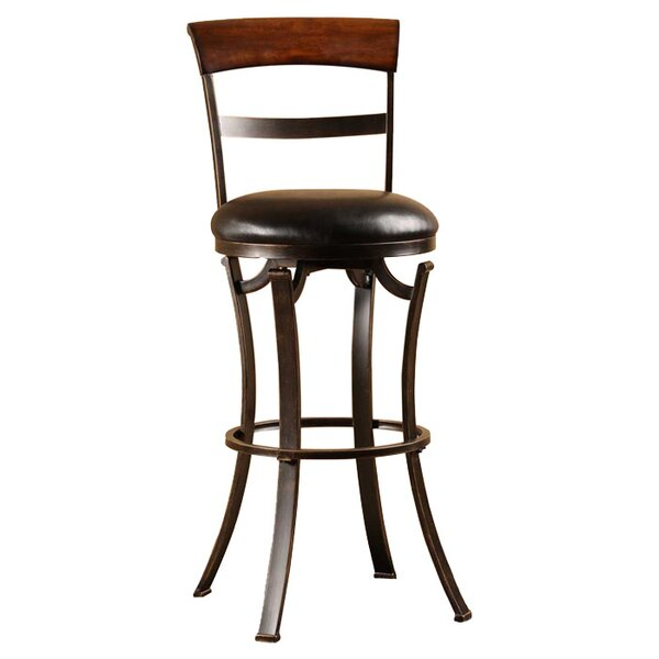 Sprecher 30 Swivel Bar Stool by Alcott Hill