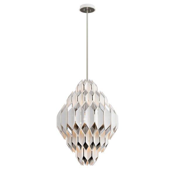 Haiku 9-Light Unique / Statement Geometric Chandelier By Corbett Lighting