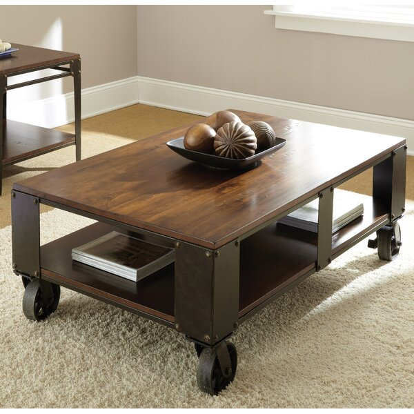 Carmela Coffee Table by 17 Stories