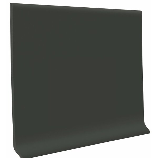 0.13 x 48 x 6 Cove Molding in Black Brown (Set of 30) by ROPPE