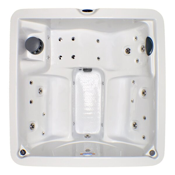 5-Person 30-Jet Plug and Play Spa with Stainless Jets and LED Light by Home and Garden Spas