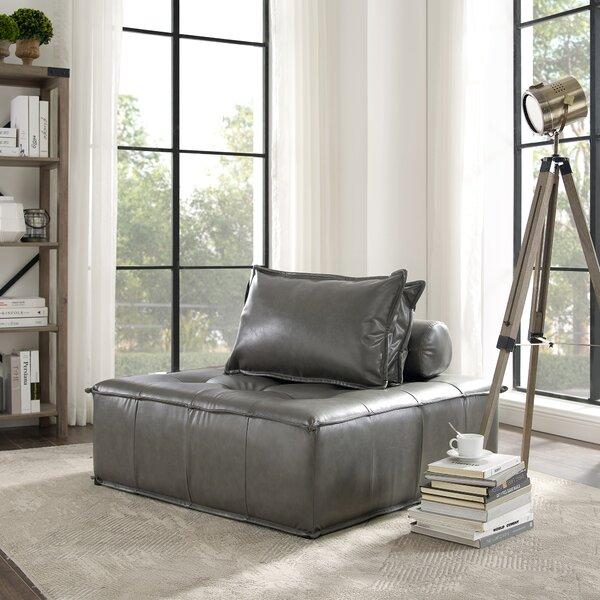 Read Reviews Odille Modular Convertible Chair