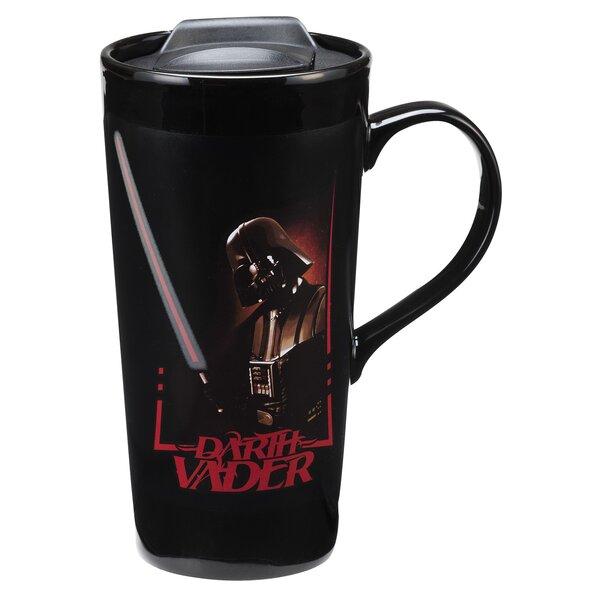 Star Wars Darth Vader 20 Oz. Heat Reactive Ceramic Travel Mug by Vandor LLC