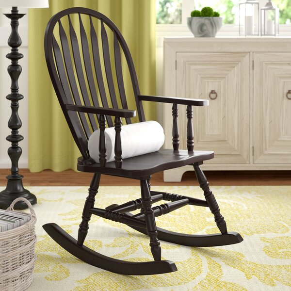 Silverman Rocking Chair with Arms by Darby Home Co