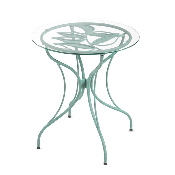 Metal Leaf Bistro Table by Wind & Weather