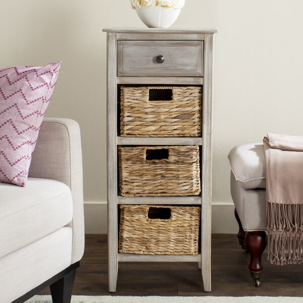 Darwin End Table With Storage by Beachcrest Home