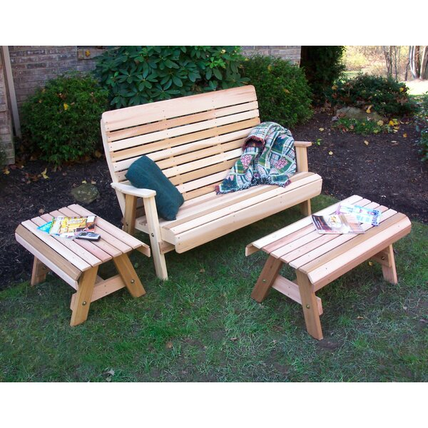Cedar 3 Piece Sofa Seating Group by Creekvine Designs