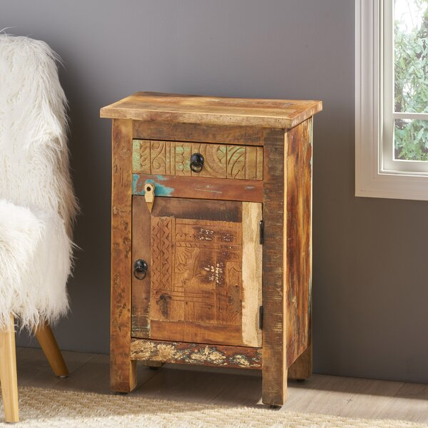 Steinmetz End Table With Storage By Highland Dunes