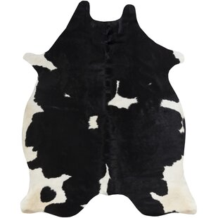 Great Price Pires Hand-Tufted Black/White Area Rug By Loon Peak