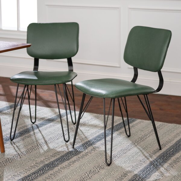 Petty Upholstered Dining Chair (Set of 2) by Union Rustic