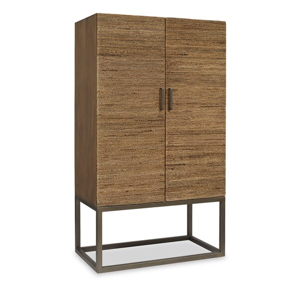 Nadia 2 Doors Accent Cabinet by Brownstone Furniture