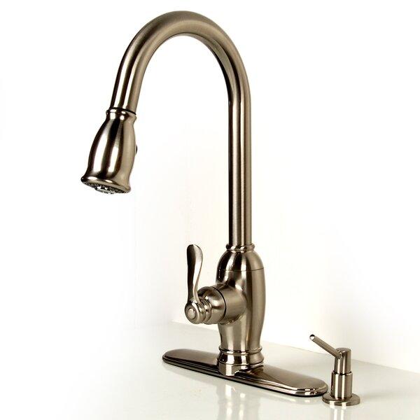 Single Handle Kitchen Faucet by D'Vontz