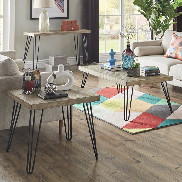 Lampley 2 Piece Coffee Table Set By Wrought Studio