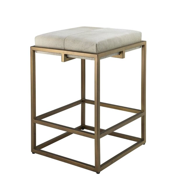 Libertyville 24-30'' Stool by Everly Quinn Everly Quinn