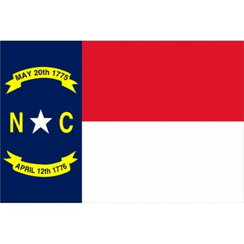 North Carolina Traditional Flag by NeoPlex