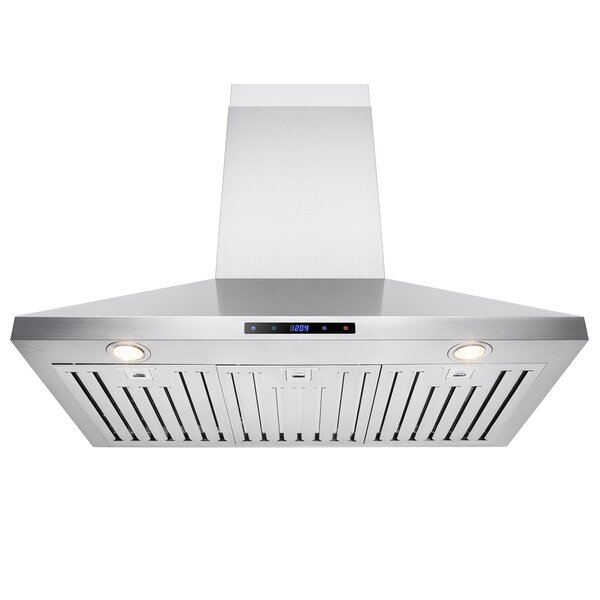 400 CFM Convertible Wall Mount Range Hood by AKDY