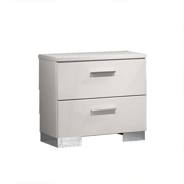 Ramilla 2 Drawer Nightstand by Orren Ellis