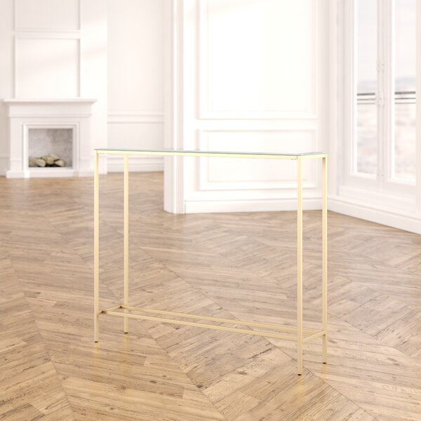 Wigington Console Table With Mirrored Top By Mercer41