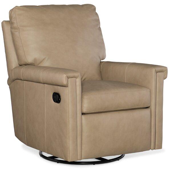 Kara Leather Manual Wall Hugger Recliner by Bradington-Young