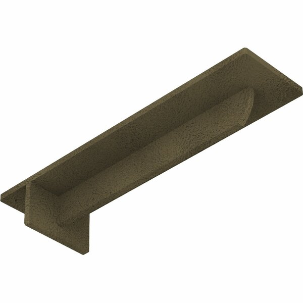 Heaton Hidden Support 2H x 3W x 12D Steel Bracket by Ekena Millwork