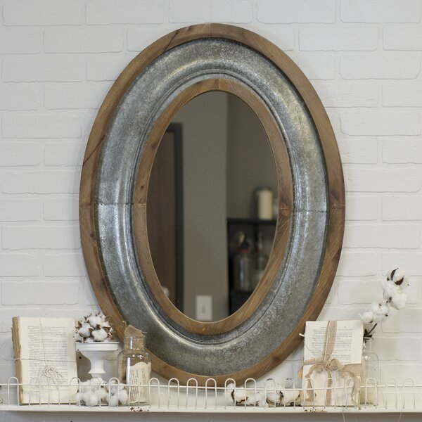 Wexler Vintage Accent Mirror by Gracie Oaks