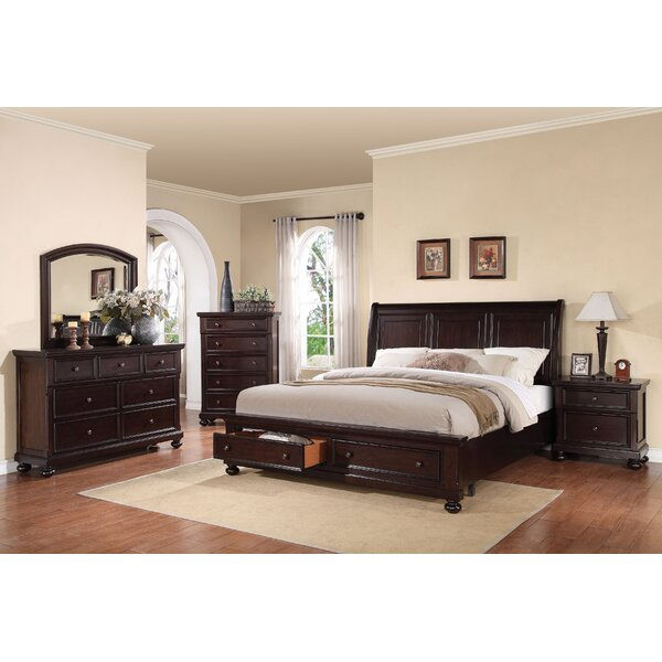 Stewardson Storage Sleigh Bed by Darby Home Co