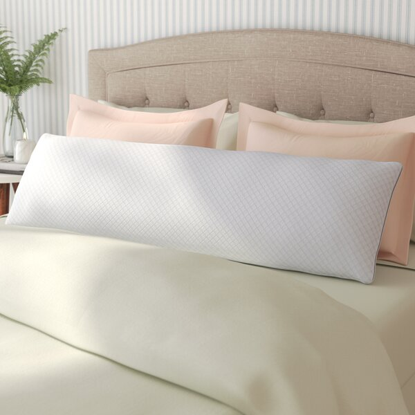 Cool Gel Memory Foam Body Pillow by Alwyn Home