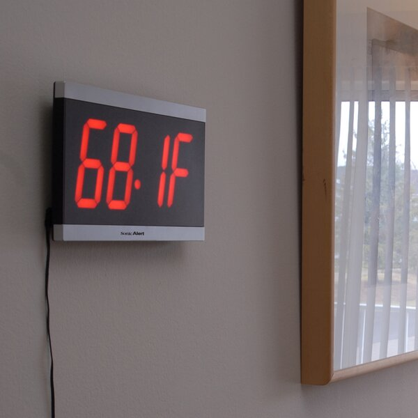 Big Display Max Table Clock by Sonic Alert