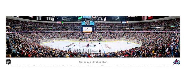 NHL Center Ice Unframed Panorama by Blakeway Worldwide Panoramas, Inc