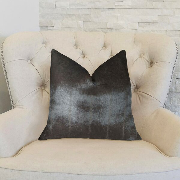 Galusha Silky Mink Handmade Luxury Pillow by Everly Quinn