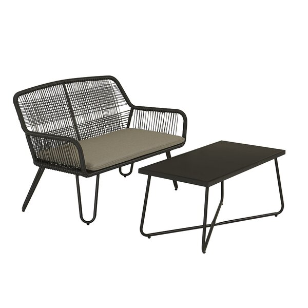 Marli 2 Piece Sofa Seating Group with Cushions by Novogratz